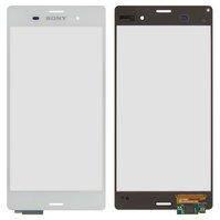Сенсорный экран для мобильных телефонов Sony D6603 Xperia Z3, D6633 Xperia Z3 DS, D6643 Xperia Z3, D6653 Xperia Z3, белый