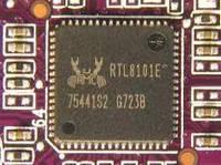 Микросхема Realtek RTL8101E сетевая карта для ноутбука