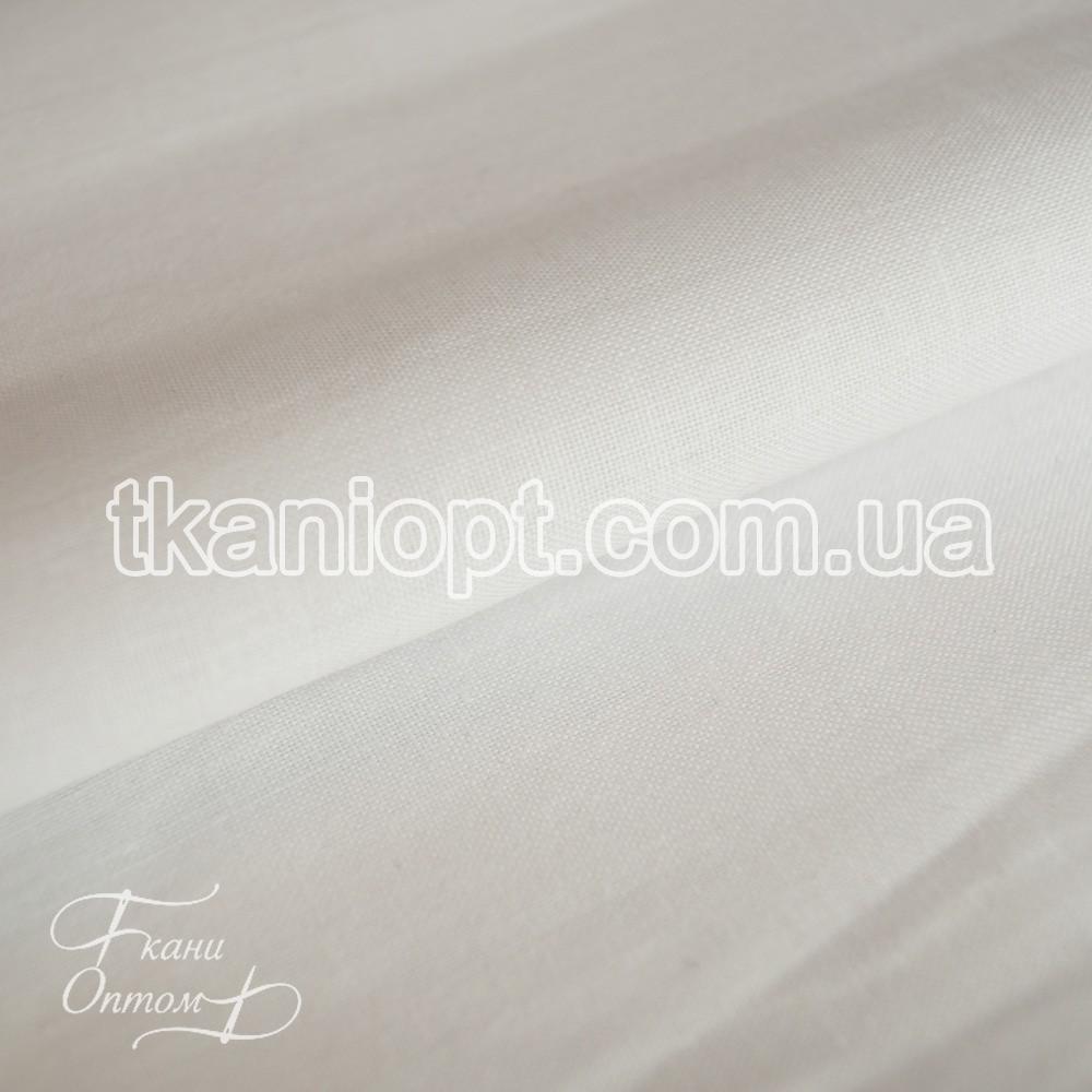 Ткань Бязь однотонный Полиэстер (белый)