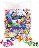 Жевательные конфеты Toffix (фруктовый микс из 6 вкусов) Elvan 1 кг