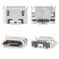 Коннектор зарядки для мобильных телефонов Fly DS104D, DS106D, DS107D, DS115, DS123, DS124, E158, E185, E210, IQ230, IQ275 Marathon, IQ4403 Energie 3,