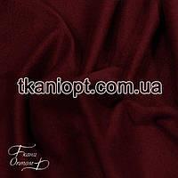 Ткань Стрейч замш тонкий (Бордовый)