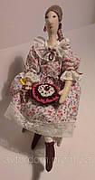 Интерьерная Кукла Тильда в каблучках, фото 1