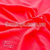Ткань Трикотаж вискоза (неон-розовый)