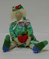 Детская Интерьерная Кукла Тильда Сплюшкин с сердцем, фото 1