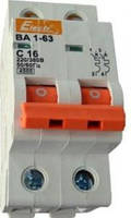 Автоматический выключатель ВА 1-63 4,5кА  2х16А  (ElectrO TM)