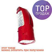 Аккумуляторный фонарик светильник YAJIA YJ-2812 / Аккумуляторный ручной светодиодный фонарик