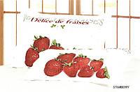 Набор наволочек Le Vele Strawberry 70*70x2