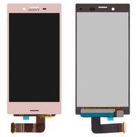 Дисплей для мобильного телефона Sony F5321 Xperia X Compact, розовый,