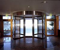 Карусельные двери