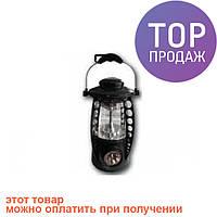 Фонарь кемпинговый IG-1211 18+5 LED/ светодиодный фонарик