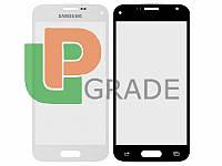 Стекло Samsung G800H Galaxy S5 mini, белое