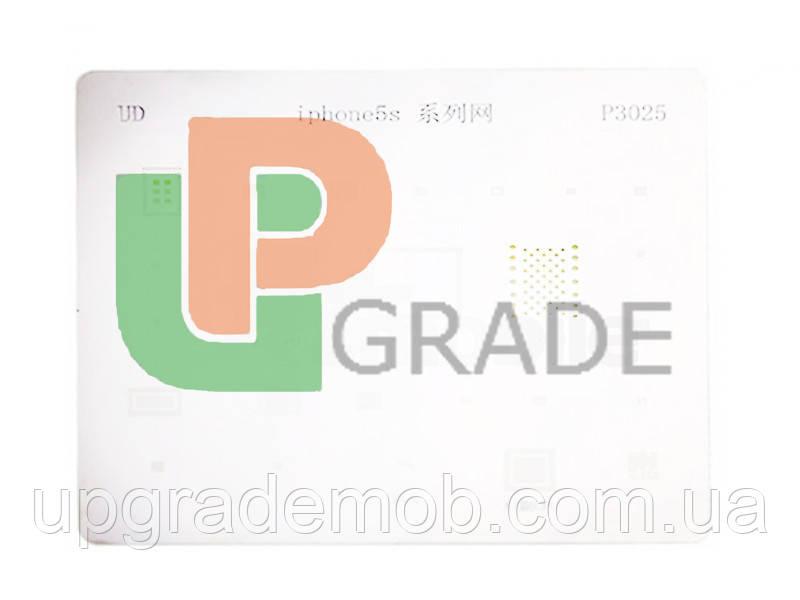 Трафарет для iPhone 5S P3025, 25 в 1 - UPgrade-запчасти для мобильных телефонов и планшетов в Днепре