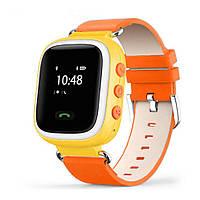 Детские часы с GPS трекером Smart Baby Watch Q60 Желтые