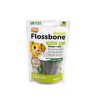 Лакомство Karlie-Flamingo Dental Flossbone для собак жевательное, среднее, 15 шт