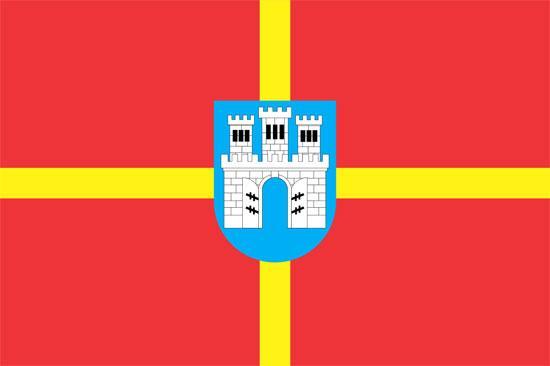 Флаг Житомирской области 90х150см