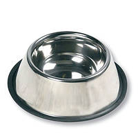 Миска Karlie-Flamingo Dish Rubber Rim для собак, 470 мл