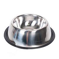 Миска Karlie-Flamingo Dish Rubber Rim для собак, 2.33 л