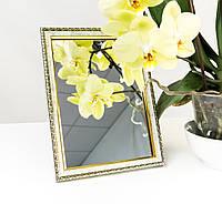 Зеркало в багете, зеркала настольные, зеркала настенные, зеркало с подставкой, 1713-1