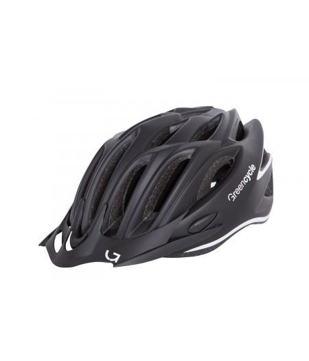 Шлем Green Cycle New Rock (черно-белый матовый)