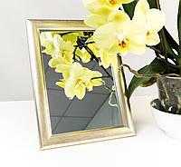 Зеркало в багете, зеркала настольные, зеркала настенные, зеркало с подставкой, 2313-4