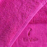 Полотенце махровое Le Vele 50x100 Fushia
