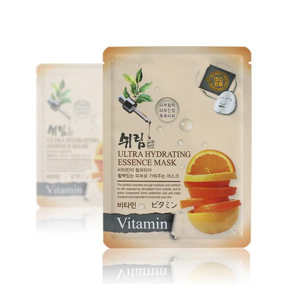 Увлажняющая тканевая маска с витаминами Shelim Hydrating Essence Mask Vitamin