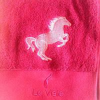Полотенце махровое Le Vele 50x100 Claret(Вышита)