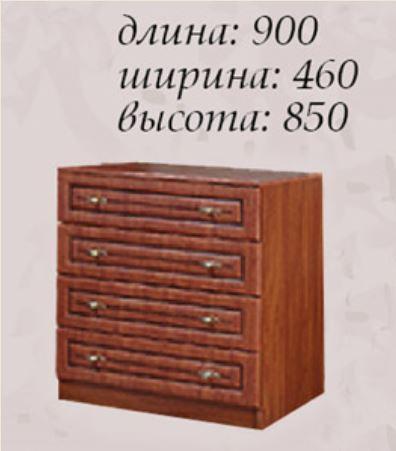 Комод Василиса (размеры)