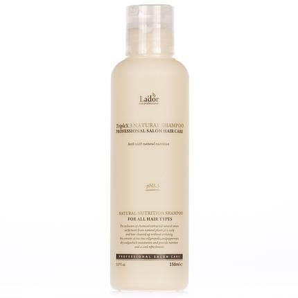 Органический шампунь LADOR Triplex Natural Shampoo, 150 мл, фото 2