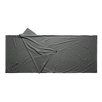 Вкладыш для спального мешка Caribee Cotton Sleeping Bag Liner Charcoal