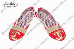Женские эспадрильи красные (Код: Эспадрильи)