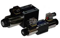 Гидрораспределители с электромагнитным управлением (ду 6 и ду 10)