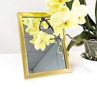 Зеркало в багете, зеркала настольные, зеркала настенные, зеркало с подставкой, 1611-18
