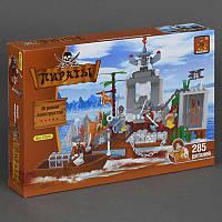 "AUSINI 27601 ""Пираты"" (12) 285 дет, в коробке"