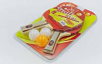 Набор для настольного тенниса Boli Prince MT-9007: 2 ракетки + 3 мяча