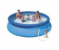 Intex 28132, надувной бассейн Easy Set 366х76см