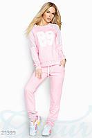 Спортивный костюм сетка. Цвет розовый.