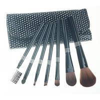 Набор кистей для макияжа 7 шт - Make Up Me BL-GL-7 Черные Камни - BL-GL-7