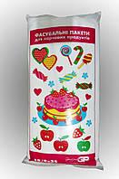 Фасовочные пакеты №9 (18/2*4*35см) Тортики, толщина 10 мкр, очень прочные (в пачке 500 шт= 1 кг)