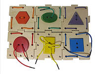 Пазл-шнурівка «Геометрик»