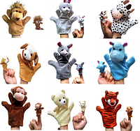 Іграшка-перчатка з дитинчам