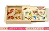 Дерев'яна іграшка на асоціації «Де чия мама?», фото 1