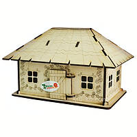 Іграшковий будиночок «Українське подвір'я», фото 1