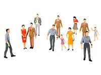 Фігурки людей (6 см)