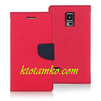 Чехол Book Cover Goospery iPhone 5 Red