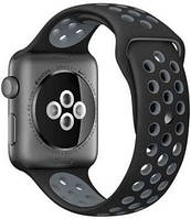 Ремешок Nike Sport Band Black/Gray для Apple Watch 42mm Series 1/2