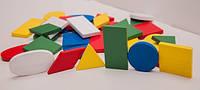 Набір геометричних фігур. 30 фігур в наборі