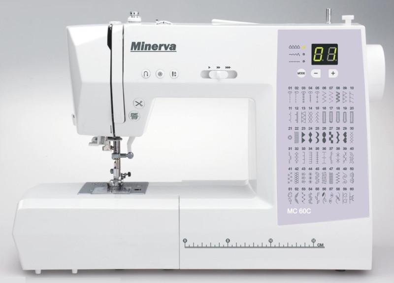 MINERVA MC 60C Компьютеризированная швейная машина