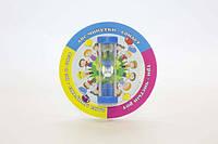 Пісочний годинник на присосці «Чистимо зубки» 3хв, фото 1